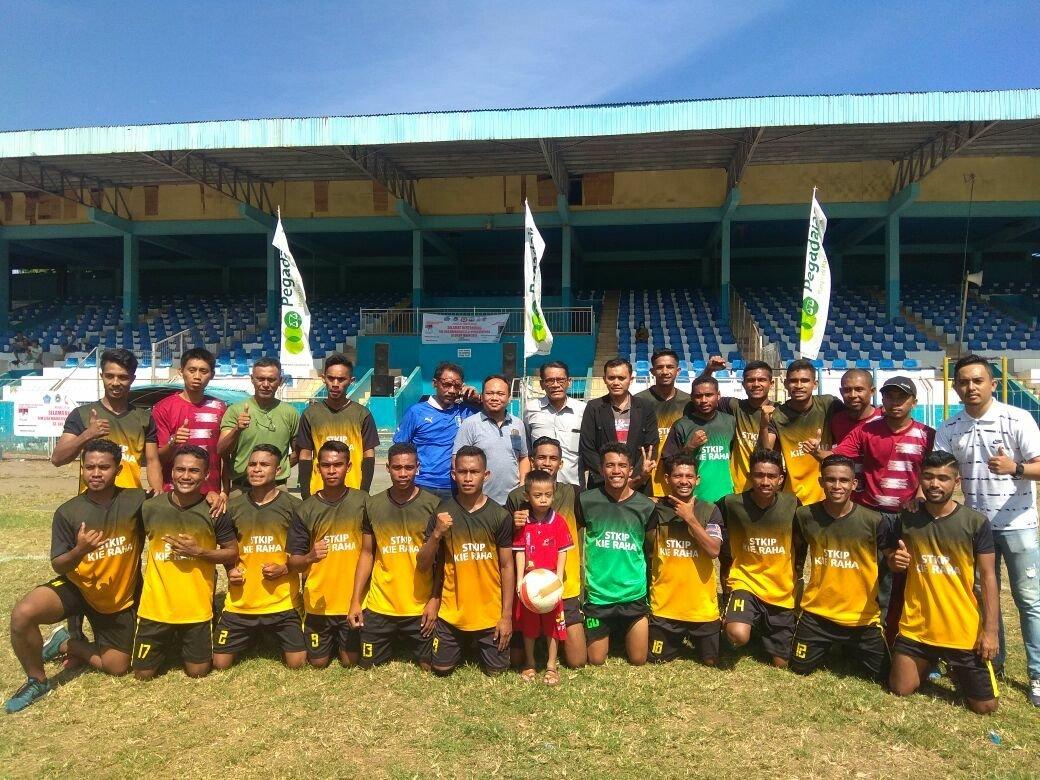 Taklukkan Aikom Ternate 10-0, STKIP Kie Raha Champion Liga Mahasiswa Zona Malut